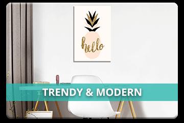 Trendy & Modern