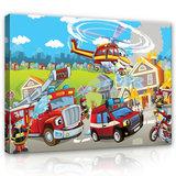 Fire Brigade Canvas Schilderij PP12549O1_