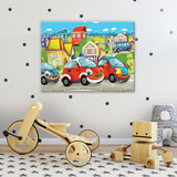 Cars Canvas Schilderij PP12536O1_