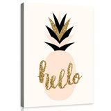 Pineapple Canvas Schilderij PP10780O1_