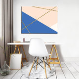 Abstract Pattern Canvas Schilderij PP10779O1_