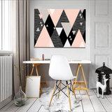 Triangles Canvas Schilderij PP10752O1_
