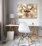 Deer Canvas Schilderij PP11403O1_