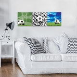 Football Canvas Schilderij PS10545S13_
