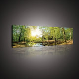 Green Forest Canvas Schilderij PP10508O3_