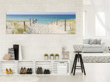 Beach and the Seaview  Canvas Schilderij PP10387O3_