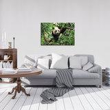 Panda Bear on the Tree Canvas Schilderij PP10238O4_