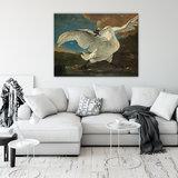 Rijksmuseum Canvas De Bedreigde Zwaan Jan Asselijn RMC13_
