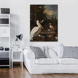 Rijksmuseum Canvas Het Drijvend Veertje Melchior D'Hondecoeter RMC14_