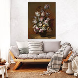 Rijksmuseum Canvas Stilleven met bloemen Hans Bollongier RMC2_