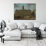 Rijksmuseum Canvas Stadhuis De Dam Amsterdam RMC26_