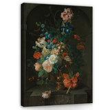 Rijksmuseum Canvas Stilleven met bloemen Coenraet Roepel RMC3_