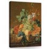 Rijksmuseum Canvas Stilleven met vruchten Jan van Huysum RMC36_