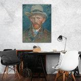 Rijksmuseum Canvas Vincent Van Gogh Zelfportret RMC42_