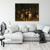 Rijksmuseum Canvas De Nachtwacht Rembrandt van Rijn RMC45_