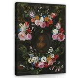 Rijksmuseum Canvas Festoen van Bloemen Jan Philip van Thielen RMC6_