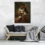 Rijksmuseum Canvas Stilleven met bloemen Harmanus Uppink RMC8_