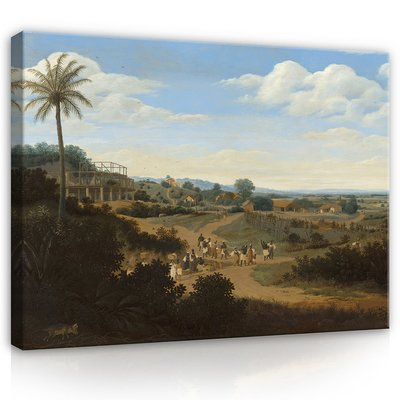 Frans Post, Braziliaans landschap 1655 - 1660 MHC4