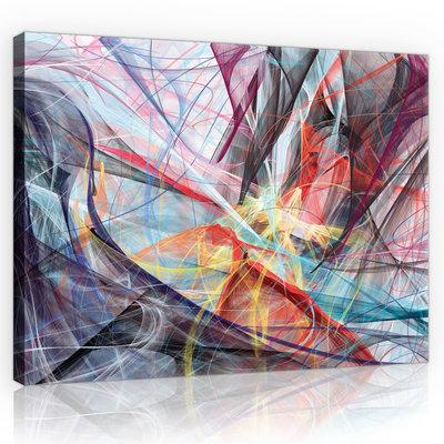 Abstraction  Canvas Schilderij PP10005O1