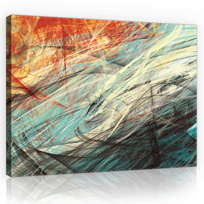 Abstraction Canvas Schilderij PP10004O1