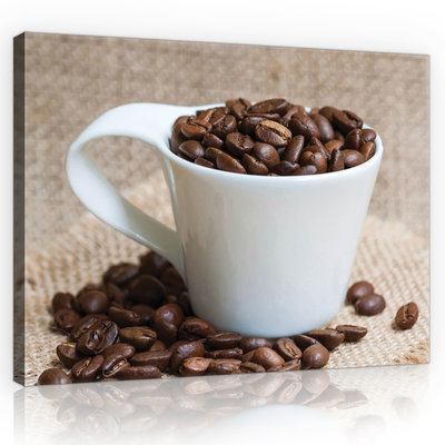 Coffee Beans Canvas Schilderij PP10887O1