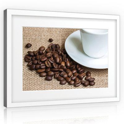 Coffee Beans Canvas Schilderij PP10884O1