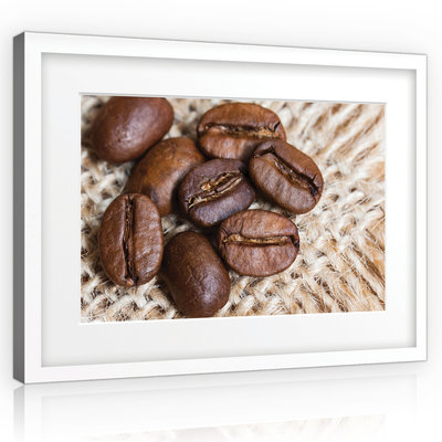 Coffee Beans Canvas Schilderij PP10883O1