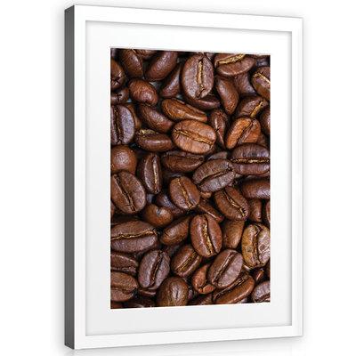 Coffee Beans Canvas Schilderij PP10881O1