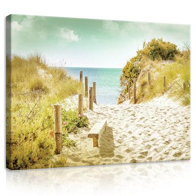 Beach Canvas Schilderij PP11594O1