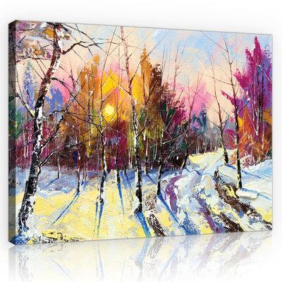 Oil painting Canvas Schilderij PP11601O1
