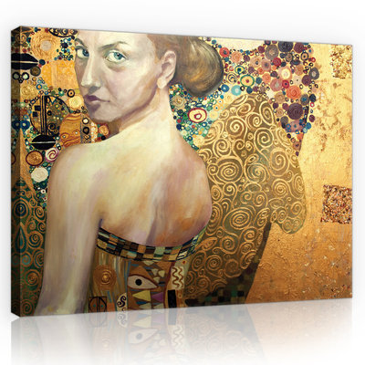 Abstraction Canvas Schilderij PP11365O1