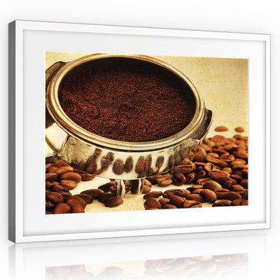 Coffee beans Canvas Schilderij PP10925O1