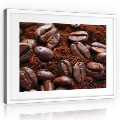 Coffee beans Canvas Schilderij PP10917O1