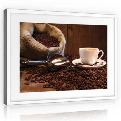 Coffee Beans Canvas Schilderij PP10916O1