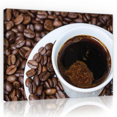 Coffee Beans Canvas Schilderij PP10890O1