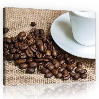 Coffee Beans Canvas Schilderij PP10889O1