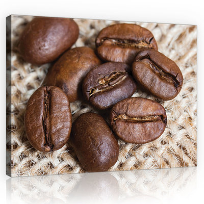 Coffee beans Canvas Schilderij PP10888O1