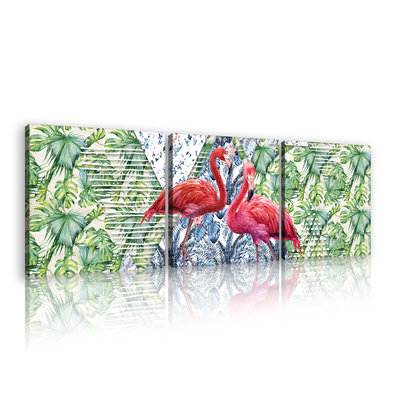 Flamingo Canvas Schilderij PS11089S13