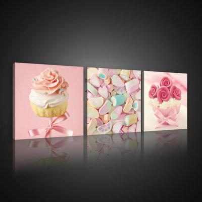 Colourful Sweets Canvas Schilderij PS10565S13