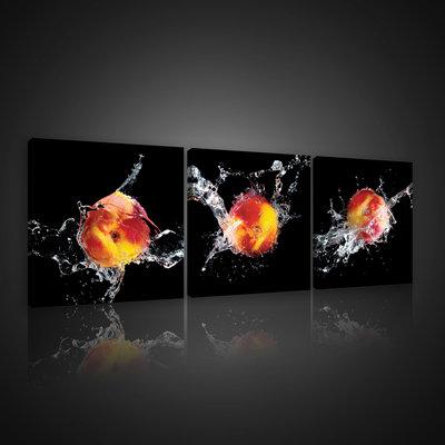 Juicy Peaches Canvas Schilderij PS10551S13
