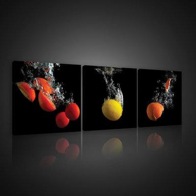 Fruit and Vegetables Canvas Schilderij PS10549S13