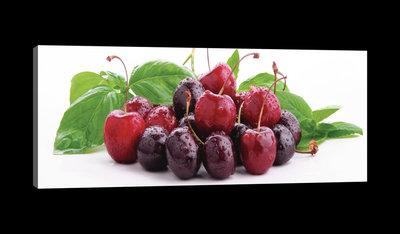 Juicy Cherries Canvas Schilderij PP20234O3