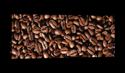 Coffee Beans Canvas Schilderij PP20233O3