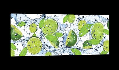 Fresh Limes Canvas Schilderij PP20229O3