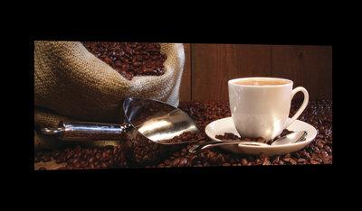 Sack Full of Coffee Beans Canvas Schilderij PP20228O3