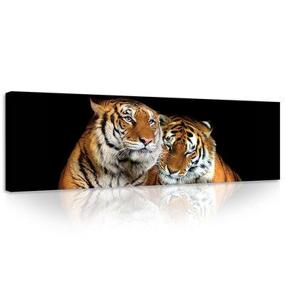 Tigers Canvas Schilderij PP21403O3