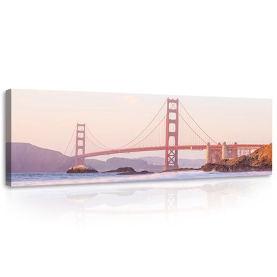 Golden Gate Bridge Canvas Schilderij PP10895O3