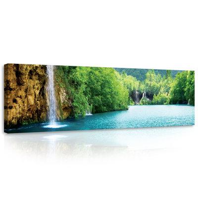 Waterfall Canvas Schilderij PP10201O3
