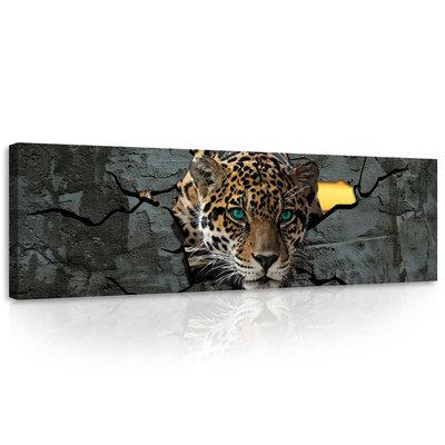 Jaguar  Canvas Schilderij PP10090O3