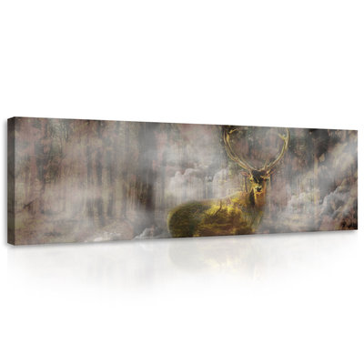 Deer Canvas Schilderij PP10145O3